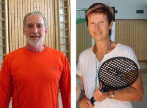 Sportlehrer Herr Lauterbach und Frau Baldeweg